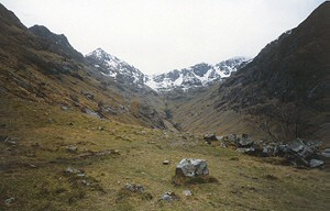 The Hidden or Lost Valley, Glen Coe.